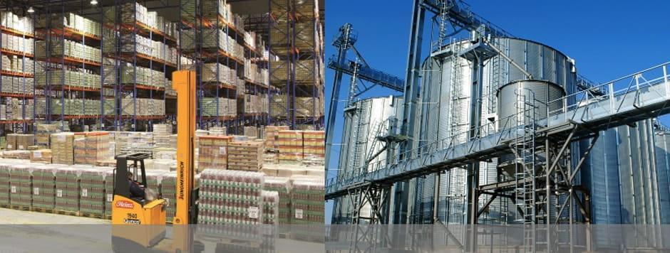 Для промышленный предприятий и складов